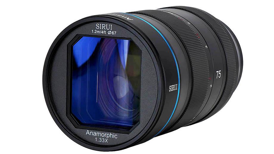 Анаморфотный объектив Sirui 75mm F1.8 1.33x уже доступен для предзаказа