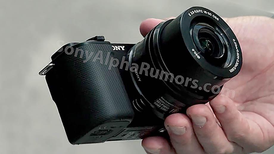 Фотографии новой Sony ZV-E10 появились в сети