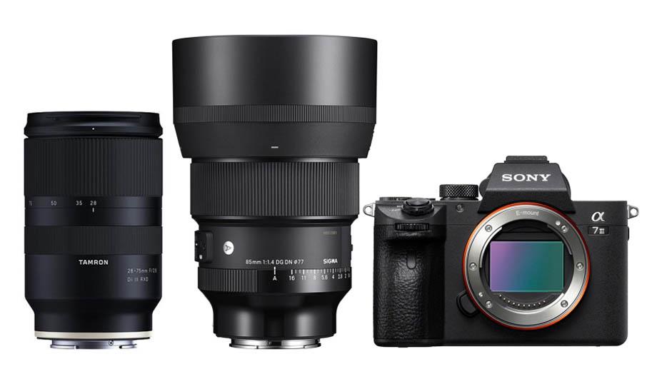 TNC: Лучшие объективы для Sony a7 III для съемки свадеб
