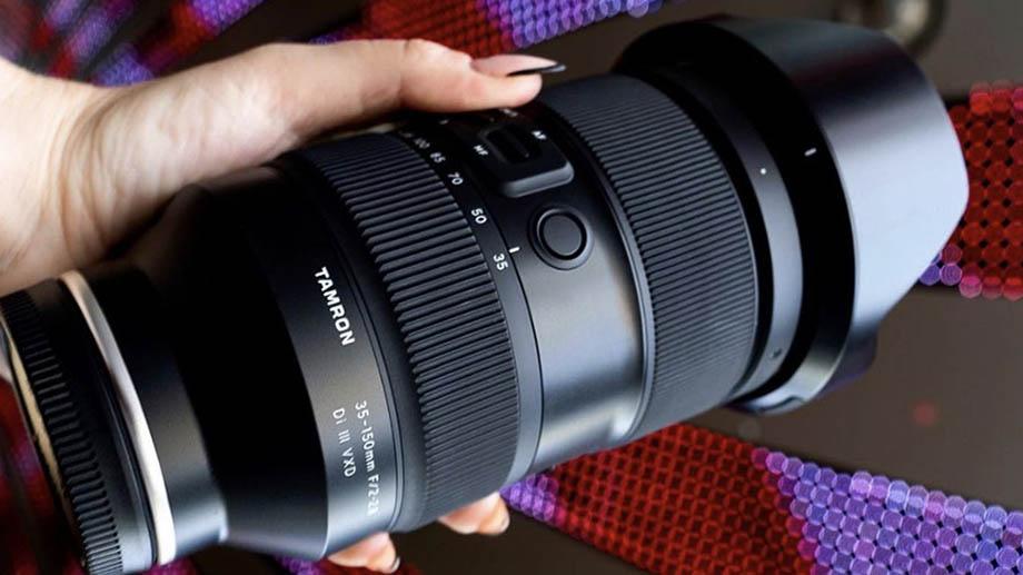 Фотографии новых объективов Tamron: 35-150mm F2-2.8 Di III VXD и 35-150mm F2-2.8 Di III VXD