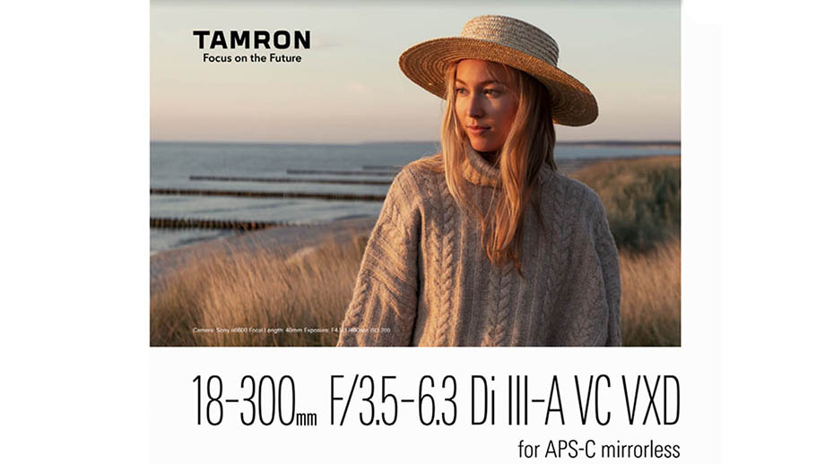 Описание Tamron 18-300mm F3.5-6.3 Di III-A VC VXD попало в сеть