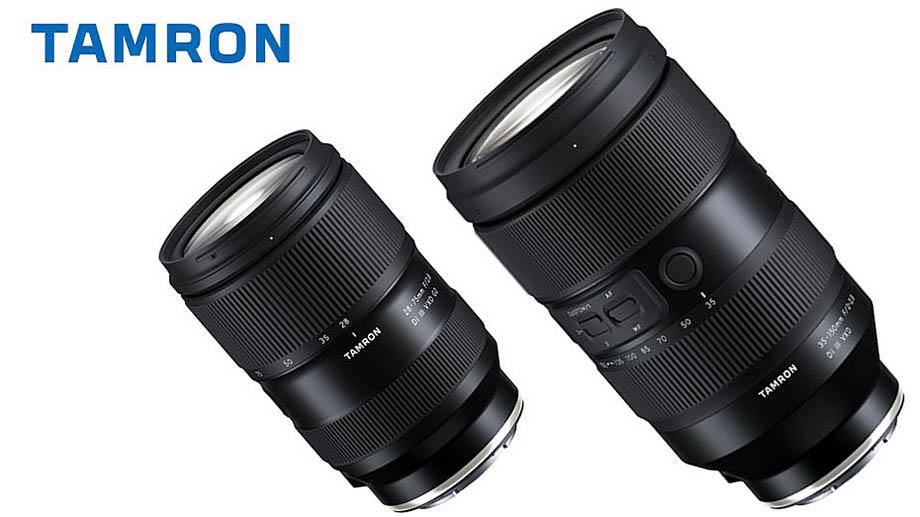 Анонсирована разработка объективов Tamron 28-75mm F2.8 Di III RXD G2 и Tamron 35-150mm F2-2.8 Di III VXD