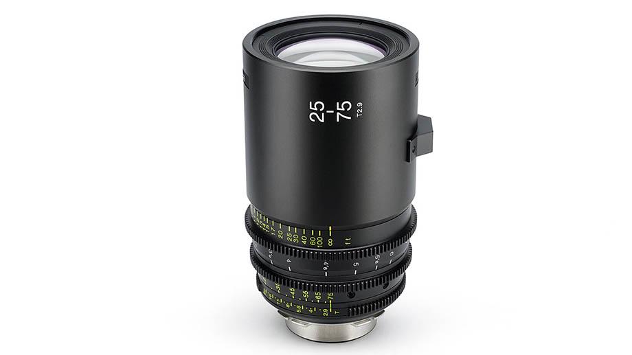 Анонс разработки кинообъектива Tokina 25-75mm T2.9