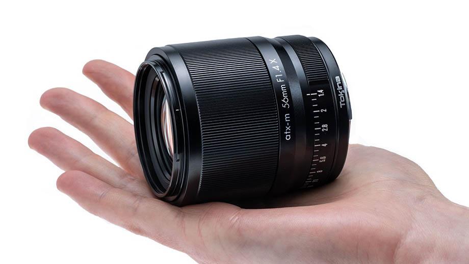 Официально представлен Tokina 56mm F1.4 X для X-Mount