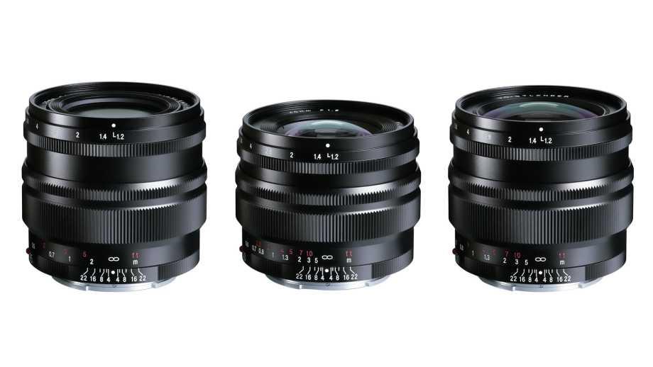 Названы даты начала продаж объективов Voigtlander Nokton 35mm, 40mm и 50mm для Sony E-mount