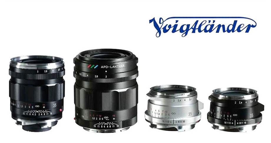 Анонсированы 3 объектива Voigtlander 35mm F2