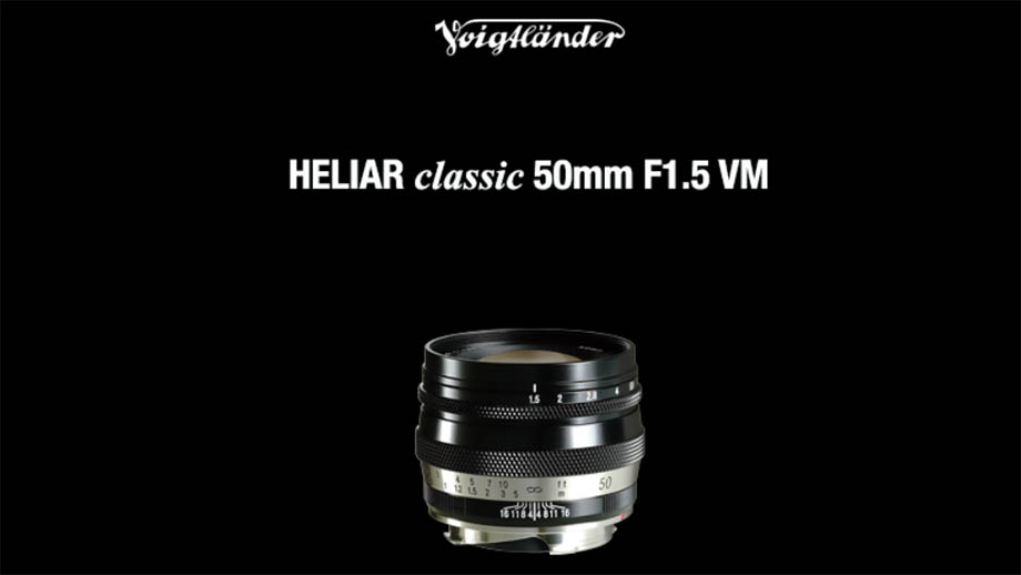 Представлен Voigtlander HELIAR Classic 50mm f/1.5 VM для камер Leica M