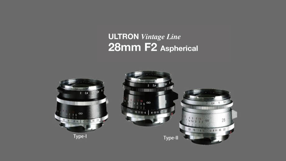 Cosina анонсировала объектив Voigtlander 28mm F2 Ultron Vintage Line