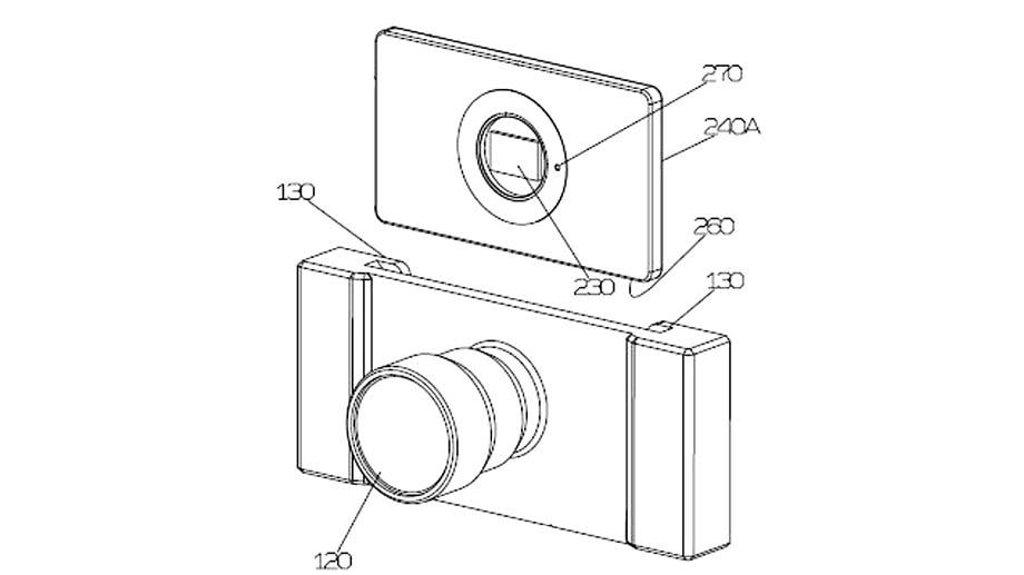 YongNuo патентует новую модульную беззеркальную камеру