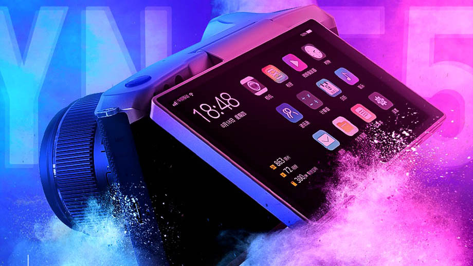 Yongnuo представила MFT-камеру Yongnuo YN455 на Android 10
