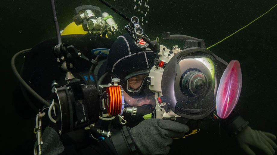 Виктор Лягушкин: «Подводная фотосъемка, введение». Урок, часть 1