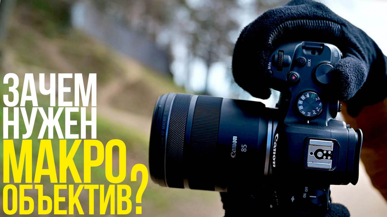 Зачем нужен макрообъектив?   Canon RF 85mm F2 Macro IS STM   Урок по фотографии