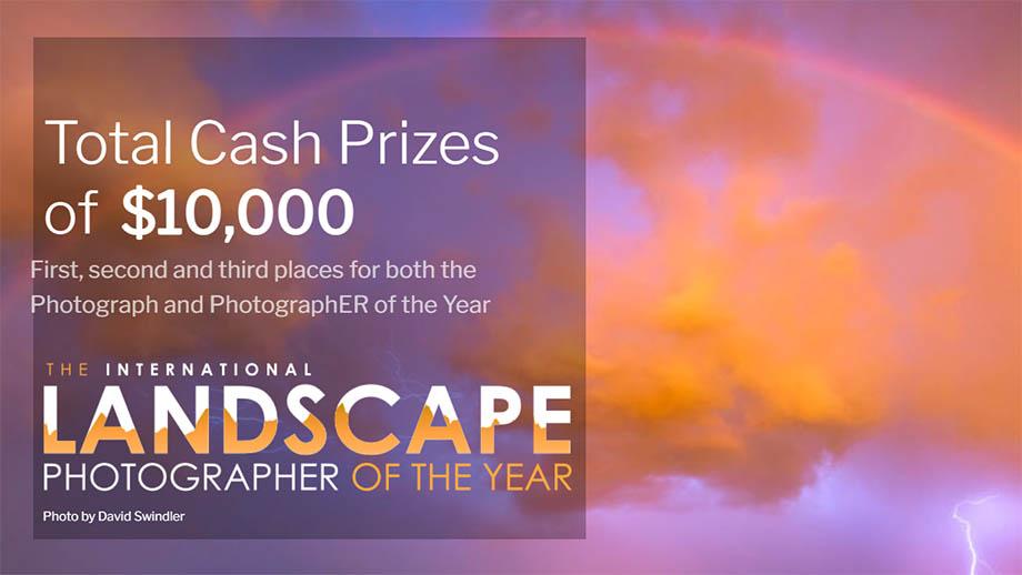 Фотоконкурс International Landscape Photographer of the Year 2021. Открыт приём работ