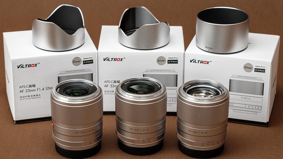 Объективы Viltrox 23, 33 и 56 мм f/1.4 для Canon EF-M. Обзор