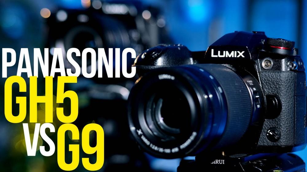 Panasonic Lumix GH5 vs Lumix G9, тест-сравнение