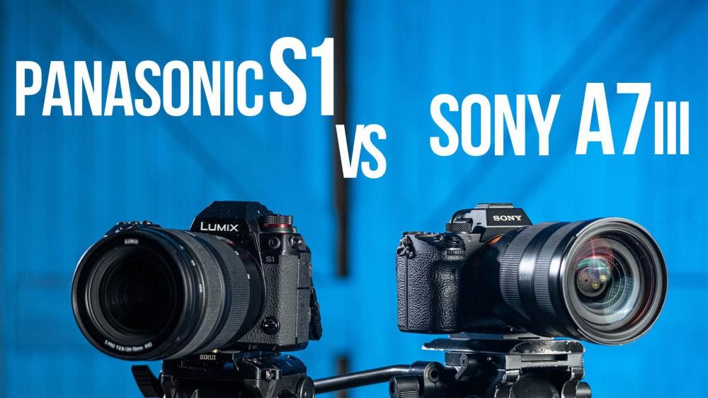 Panasonic S1 vs Sony a7III. Тест