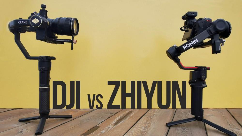 DJI Ronin RS2 vs Zhiyun Crane 2S | Обзор-сравнение стабилизаторов