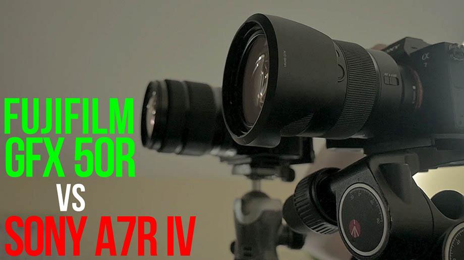 Sony a7RIV vs Fujfilm GFX 50R | Полный кадр против среднего формата