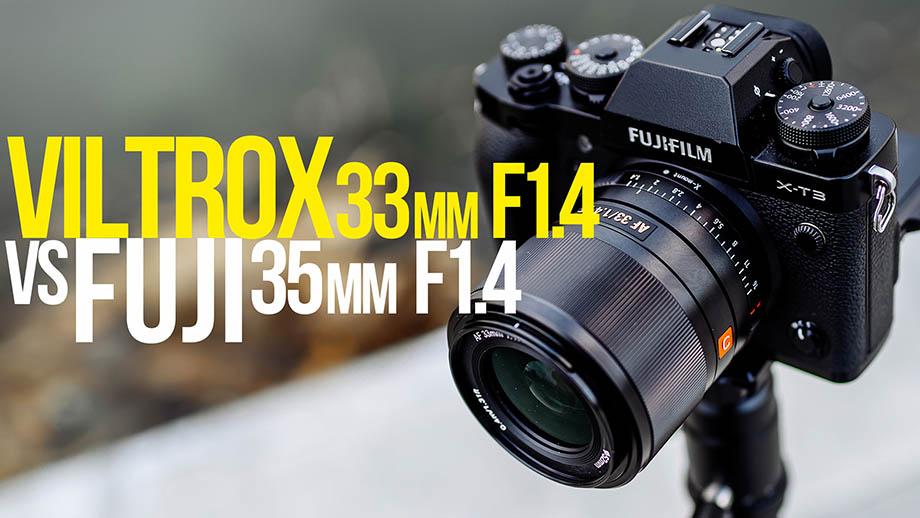 Viltrox 33mm F1.4 для Fuji. Обзор