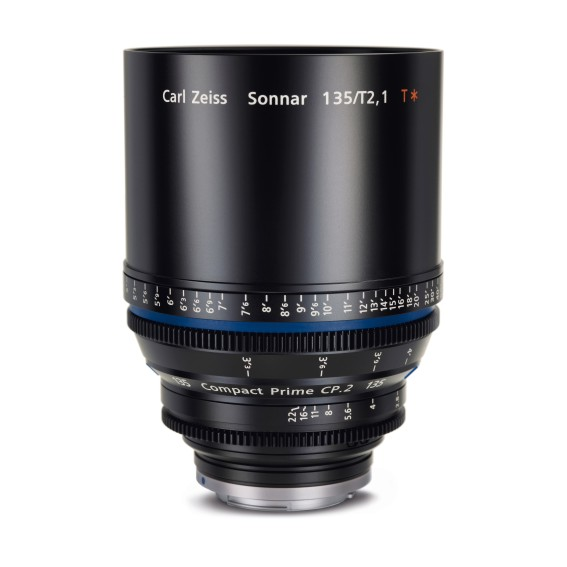 Carl Zeiss Compact Prime CP.2 135/T2.1 EF