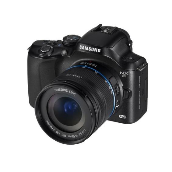 Samsung NX1000, NX210 и NX20 — камеры со встроенным модулем Wi-Fi
